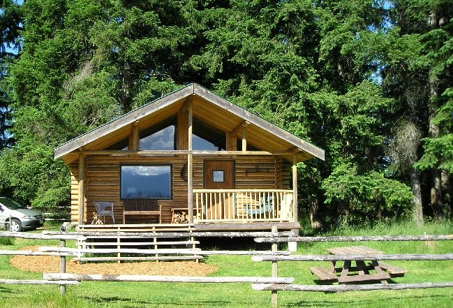 The Log Cabin And Bunkhouse